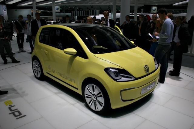 2009 Volkswagen E-up! Concept at the 2009 Frankfurt auto show