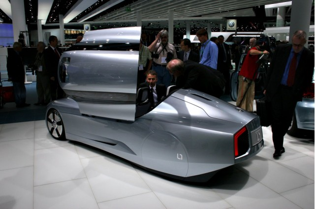 2009 Volkswagen L1 concept at the 2009 Frankfurt auto show