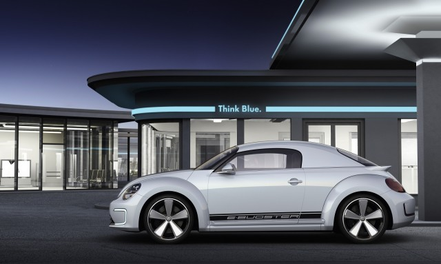 Volkswagen E-Bugster Concept electric two-seat coupe, 2012 Detroit Auto Show