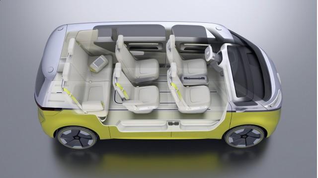 Volkswagen I D Buzz Concept 2017 Detroit Auto Show
