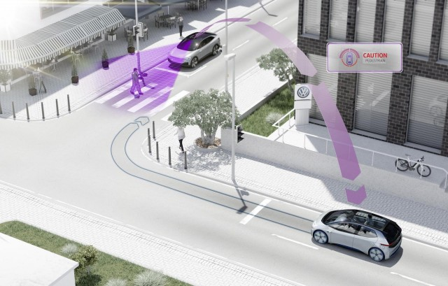 Volkswagen Will Introduce Vehicle To Vehicle Technology In