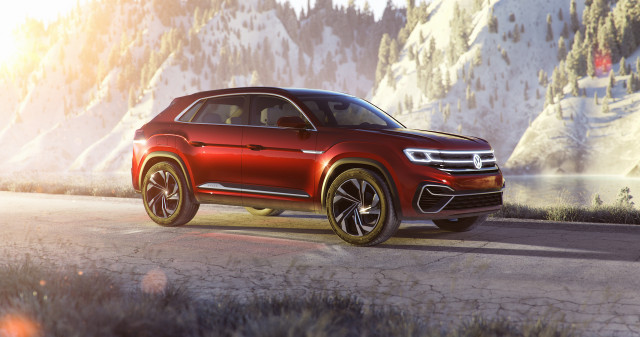 2020 VW Atlas Cross Sport concept shows plug-in hybrid ...