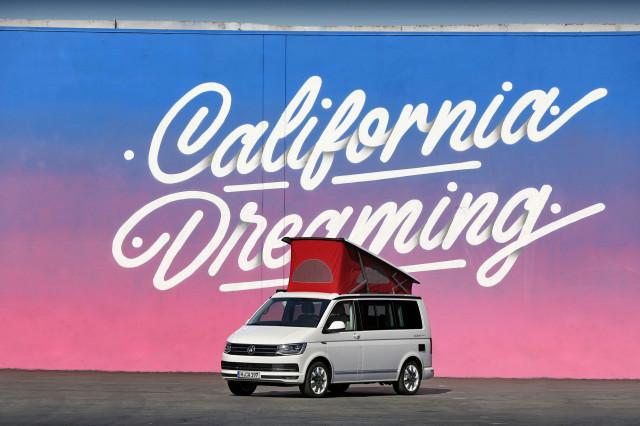 Volkswagen California Ocean Red