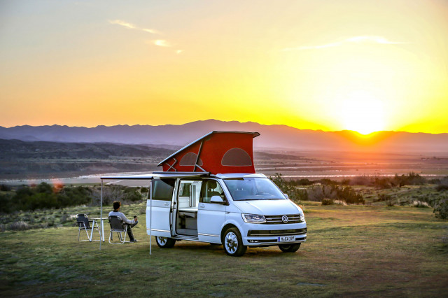 Volkswagen California Ocean Red