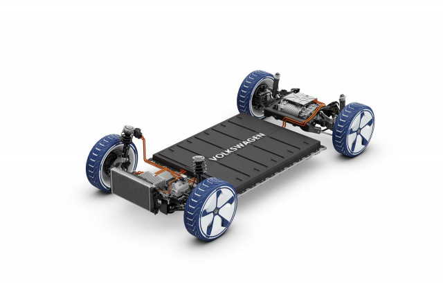 VW ID rolling chassis