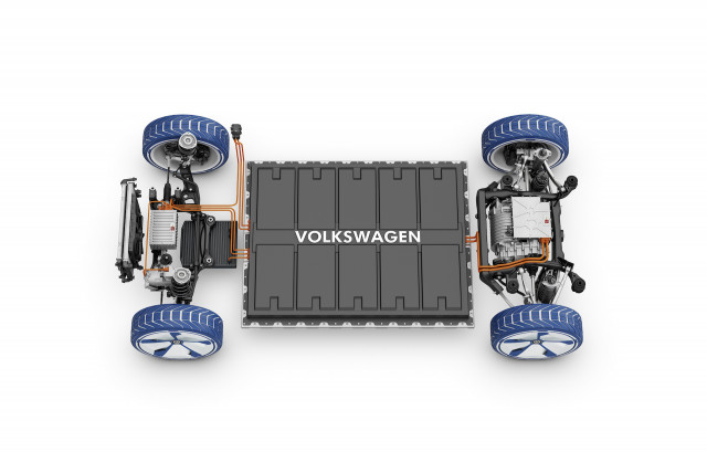 Here's the battery pack behind VW's global electric-vehicle push