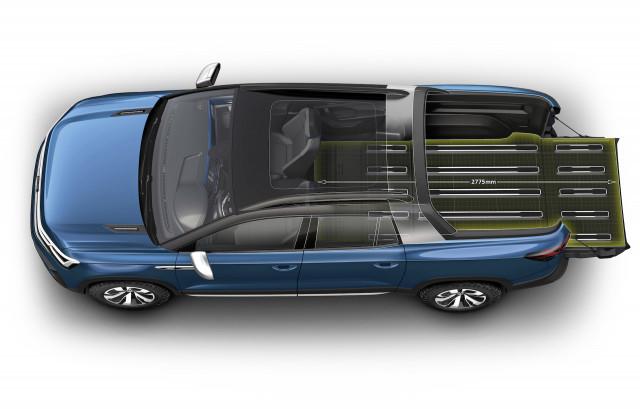 Volkswagen Tarok compact pickup concept