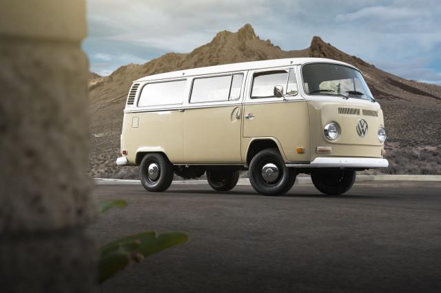 Volkswagen Type 2 electric conversion