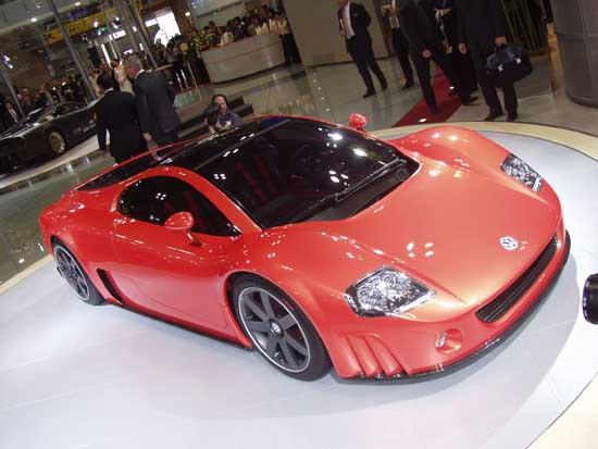 Volkswagen W-12 concept Tokyo 2001
