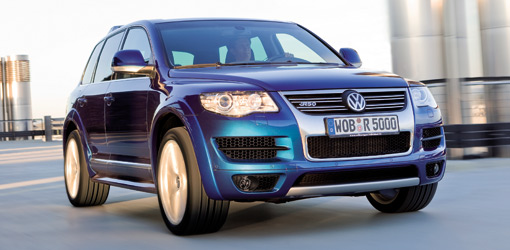 volkswagen touareg r50 debuts with v 10 diesel power. Black Bedroom Furniture Sets. Home Design Ideas