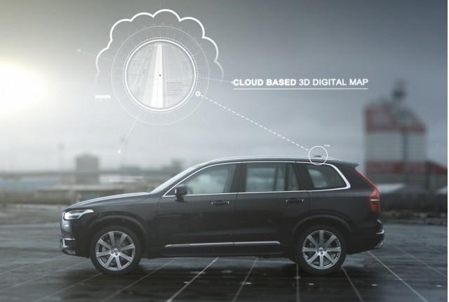 Volvo Autopilot autonomous-car system