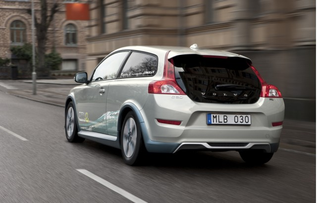 Volvo C30 Battery Electric Vehicle, shown at 2010 Detroit Auto Show