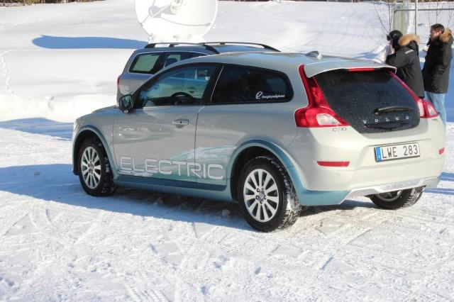 Volvo C30 Electric Arctic Test Drive