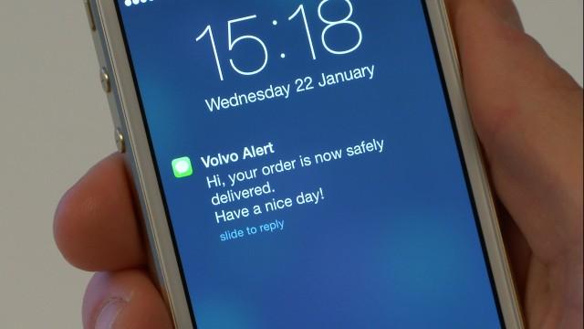 Volvo 'roam delivery'