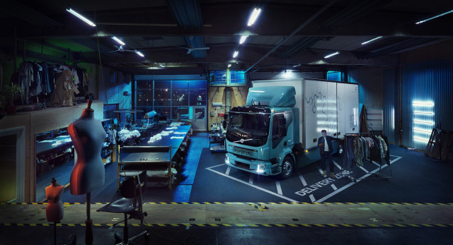 Volvo Truck FL electric commercial truck