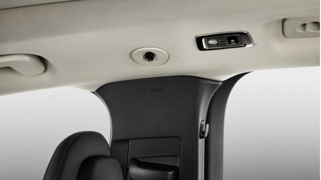 Volvo in-car camera monitors
