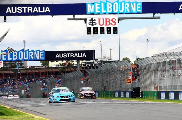 Volvo's first victory in V8 Supercars