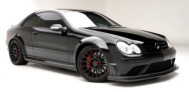 Mercedes Clk 63 Amg Black Widow By Vorsteiner