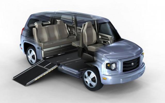 Am General Buys Vpg Defunct Natural Gas Handicapped Van Maker