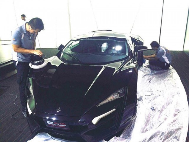 3 4 Million Lykan Hypersport Up For Sale At Dubai Dealership