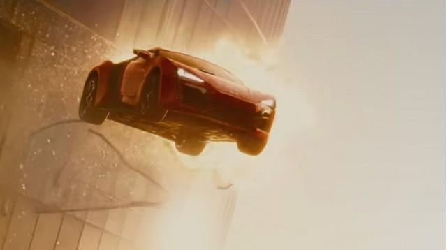 W Motors Lykan Hypersport in 'Furious 7'
