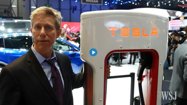 Wall Street Journal S Dan Neil On Electric Car Charging Station Design Geneva Motor Show