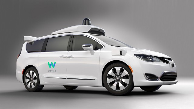 Waymo Self Driving Prototype