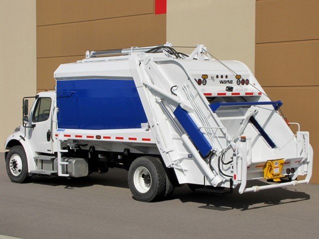 Wayne Engineering Garbage Truck