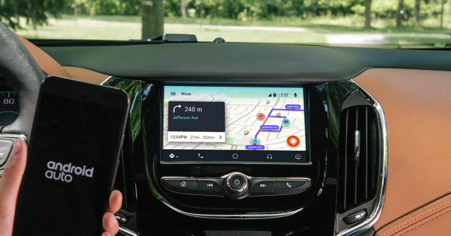 Waze and Android Auto