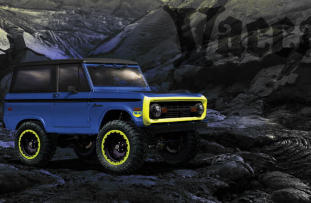 WD-40 and Vaccar Bronco build