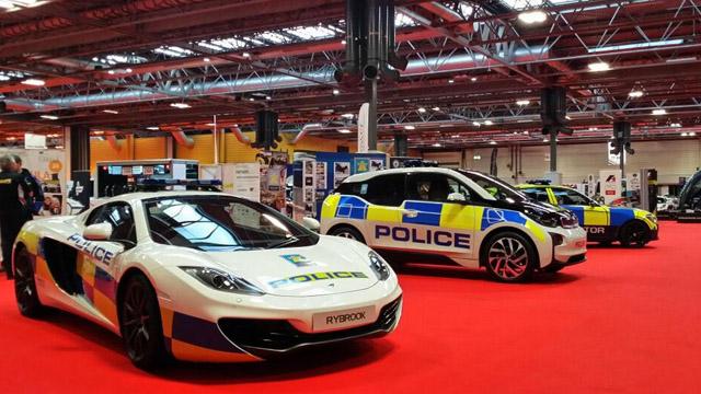 U.K. Police Follow Dubai's Lead And Add McLaren Supercar To Fleet
