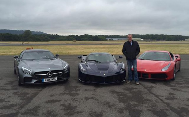 Clarkson S Final Top Gear Test Track Lap Done In Ferrari 488 Gtb