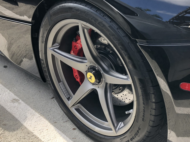 Wheel weights on a LaFerrari