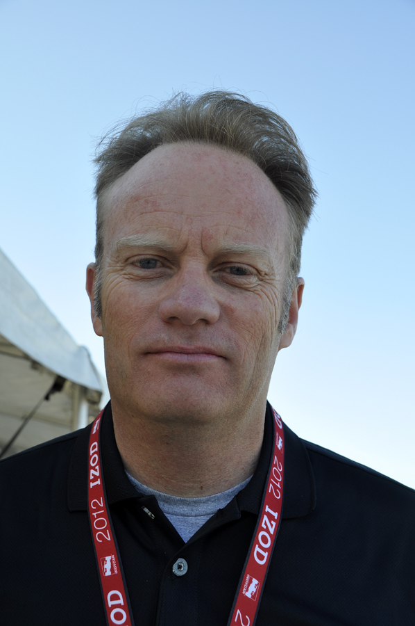 Will Phillips, INDYCAR vice president of technology - Anne Proffit photo