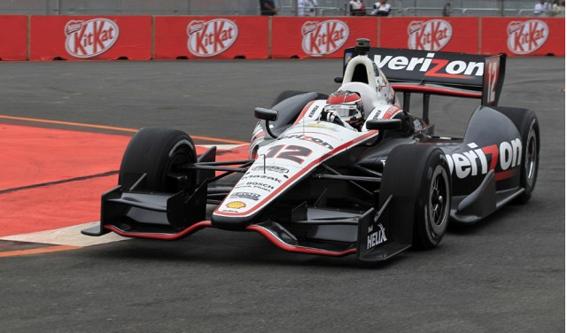 Will Power races to Sao Paulo pole - LAT/INDYCAR photo