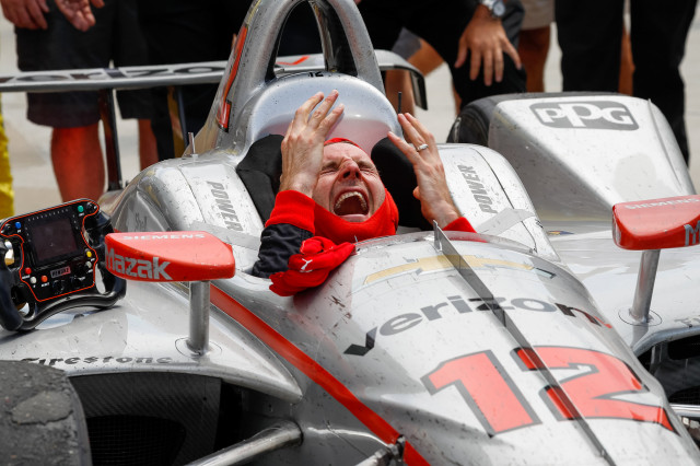 Will Power wins the 2018 Indianapolis 500
