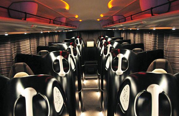 Willer Express luxury Japanese bus