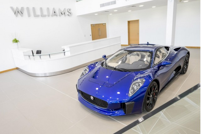 Williams Advanced Engineering in Oxfordshire, England