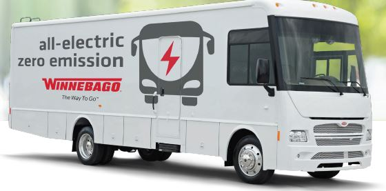 Winnebago Custom Electric Rv On Motiv Chis