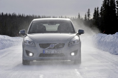 Winter Testing Volvo C30
