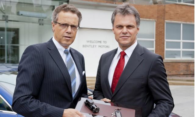 Wolfgang Dürheimer and Wolfgang Schreiber