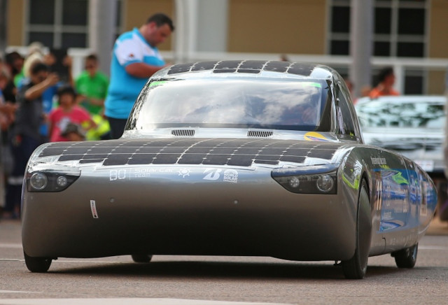 Solar Powered Car Race Kicks Off 30 Years Of World Solar