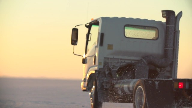 WrightSpeed turbine range-extended electric powertrain in medium-duty truck used by FedEx