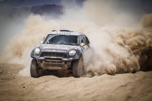 X-Raid Team MINI ALL4 Racing at the 2015 Dakar Rally