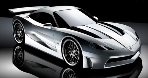 X3 Concept Based On Mazda Rx 7
