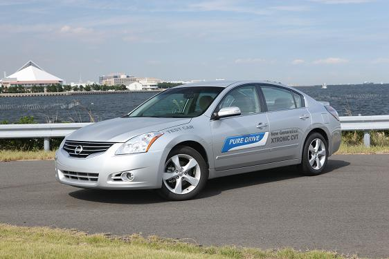 Xtronic CVT, 6th generation  -  for 2013 Nissan Altima
