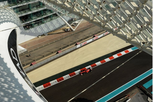 Yas Marina Circuit, home of the Abu Dhabi Grand Prix