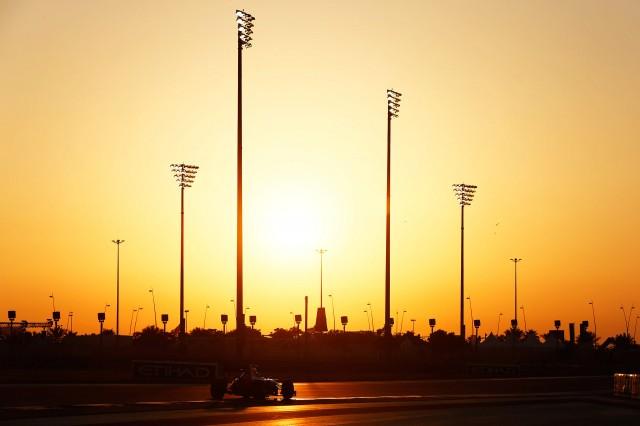 Yas Marina Circuit, home of the Formula 1 Abu Dhabi Grand Prix
