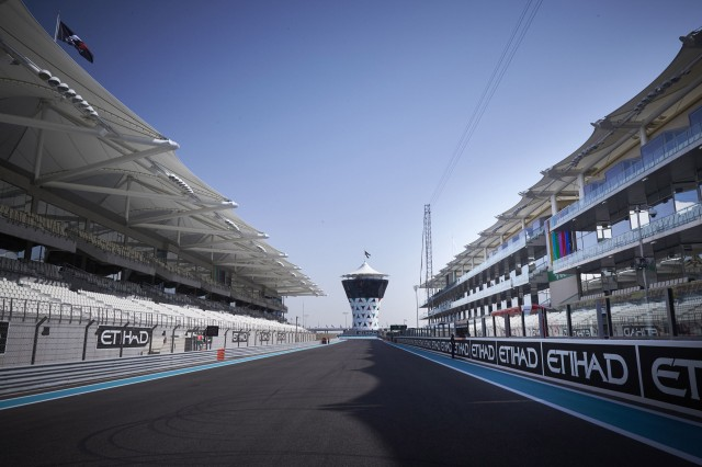 Yas Marina Circuit, home of the Formula 1 Abu Dhabi Grand Prix