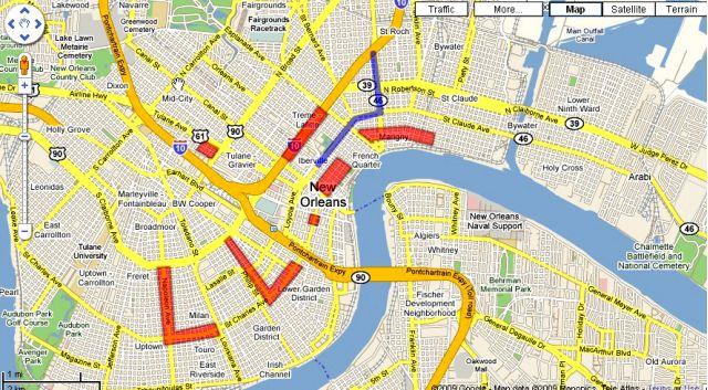 Your Mardi Gras map